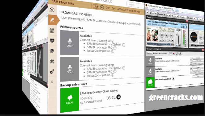 SAM Broadcaster Pro Cracked