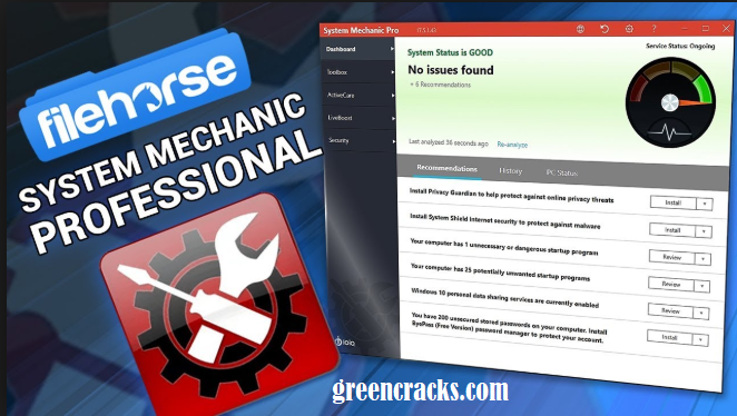 System Mechanic Professional Crack
